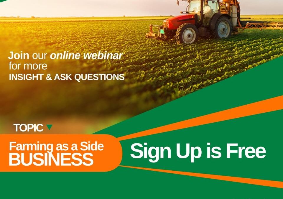 Farming as a side business webinar